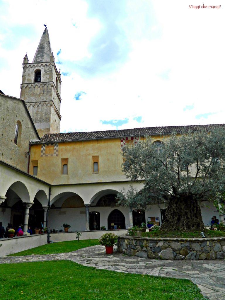 Chiostro del Convento di S. Domenico, Taggia.