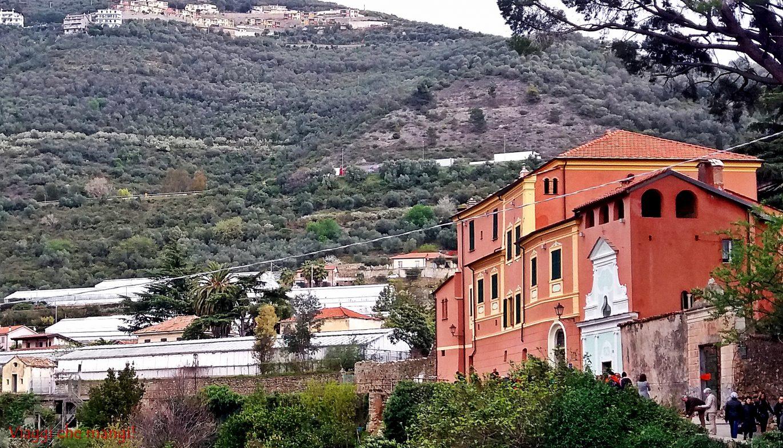 Villa Curlo, Taggia.