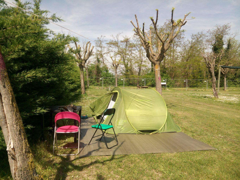 Il campeggio scelto per il nostro itinerario nelle Langhe.