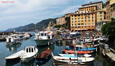 Porticciolo di Camogli, uno dei borghi in provincia di Genova da visitare assolutamente.