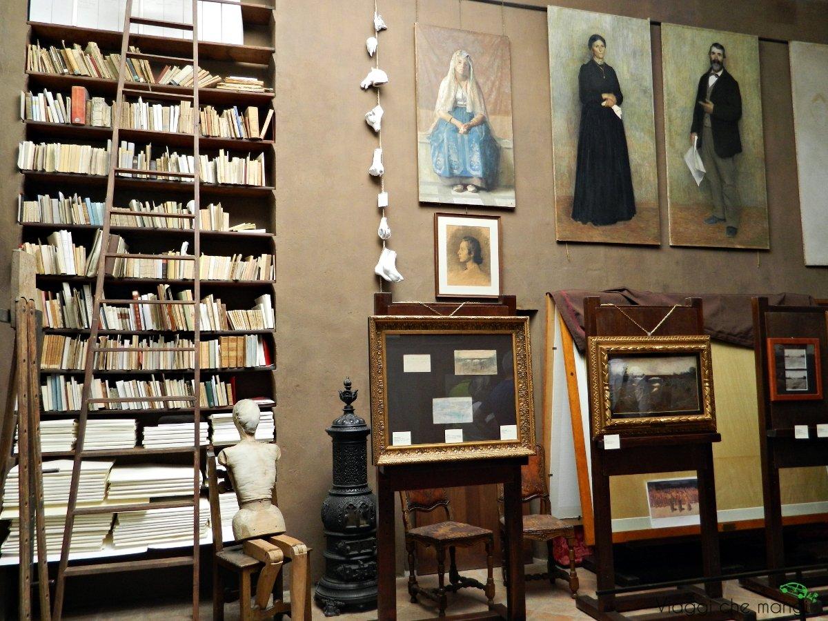 Grazie ai musei pellizza da volpedo è possibile visitare la casa studio del pittore.