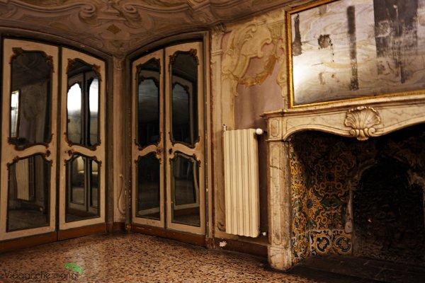 appartamento delle dame di Palazzo reale di genova