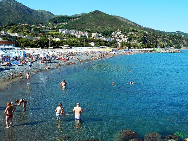 Spiagge di genova comode: arenzano.