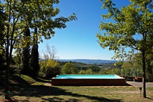piscina camping panorama del chianti