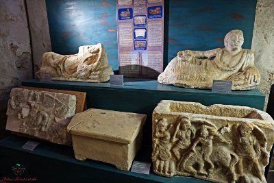 sezione archeologica palazzo pretorio certaldo