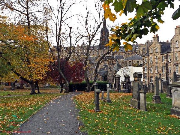 Greyfriars Kirkyard uno dei luoghi da visitare ad halloween a edimburgo