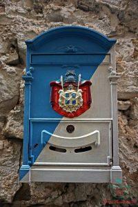cassetta delle lettere principato di seborga