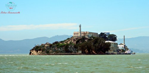 Alcatraz a San Francisco.