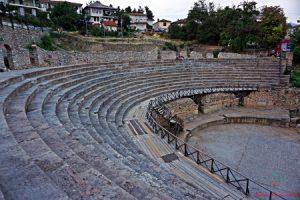 cosa fare sul lago di ohrid: visitare l'anfiteatro romano