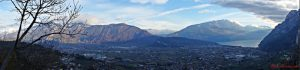 Il panorama dal borgo di Frapporta è una delle cose che non puoi perderti nei dintorni di Rovereto.
