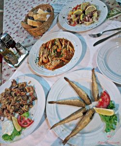 cosa mangiare a trogir: una cena da Mali Porat a Ciovo.