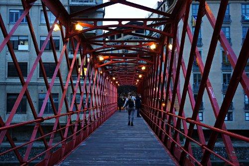 cosa vedere a girona in un weekend: Pont de les Peixateries Velles.