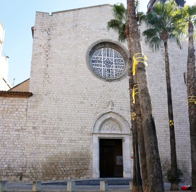 le chiese di girona: Chiesa in Plaza Susanna..