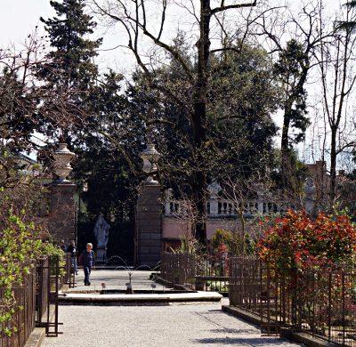 Viali dell'Orto Botanico di Padova.
