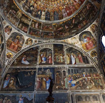 Cosa vedere a Padova in due giorni: gli Affreschi del Battistero del Duomo di Padova.