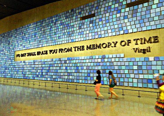 tra le 5 mete da brivido inserisco New York e l'Interno del 9/11 Memorial a New York.