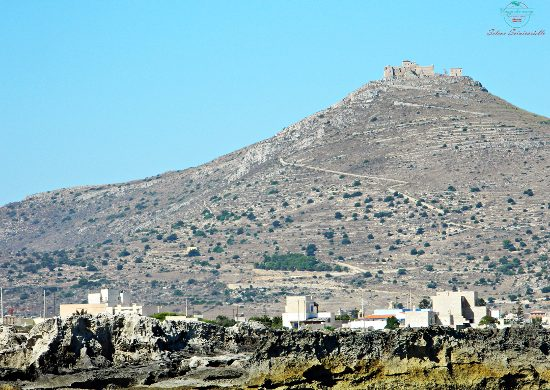 Veduta del castello di Santa Caterina a Favignana.
