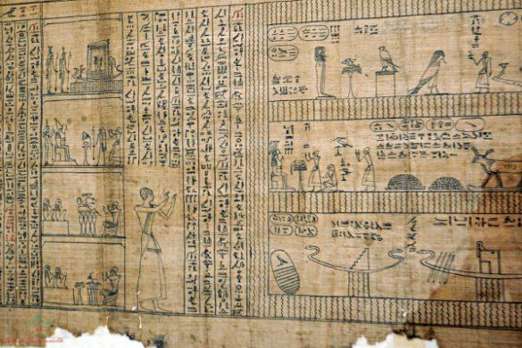 Libro dei Morti di Iuefankh è conservato al Museo Egizio di Torino, una delle cose da fare assolutamente a torino.