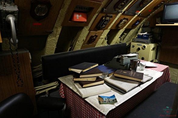 cosa visitare a genova: Gli interni del Sottomarino Nazario Sauro.
