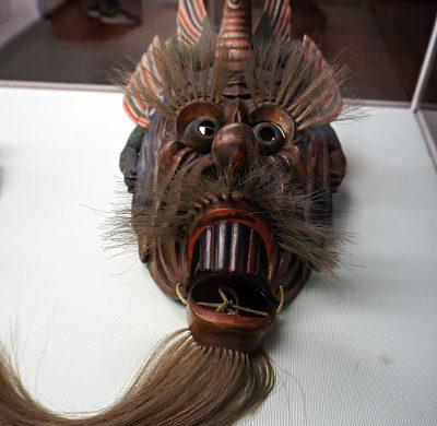 Maschera orientale conservata al Museo d'Arte Orientale Edoardo Chiossone.