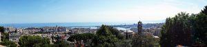 Panoramica di Genova dal capolinea del 375 in Via Domenico Chiodo, uno dei migliori punti panoramici di Genova.
