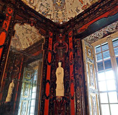 Gabinetto cinese della Villa della Regina di Torino.