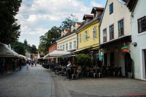 Cosa vedere a Zagabria: la strada Tkalčićeva.