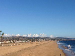 Le spiagge di Los Angeles. © Michelangelo Matteoda.