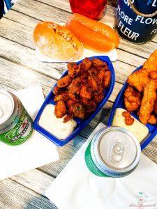 Cosa mangiare a L'Aia: Pesce fritto nel ristorante / fast food Simonis.