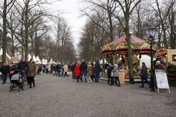 I banchi della Royal Christmas Faire.