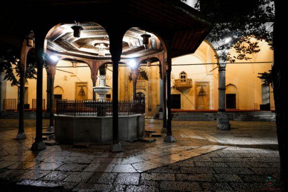 Cosa vedere a Sarajevo: La moschea Gazi Husrev Beg.