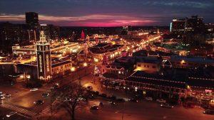 Kansas City by night.