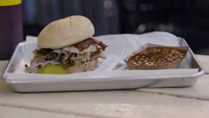 Hamburger in Kansas City.