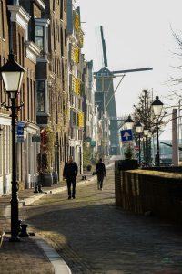 Cosa vedere a Rotterdam: il Mulino di Delfshaven.