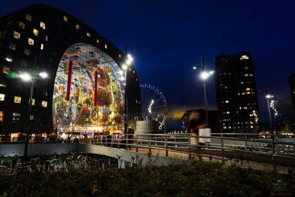Cosa vedere a Rotterdam: il Markthal.