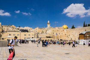 Gerusalemme in primavera.