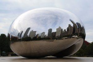 Millenium Park, Chicago.