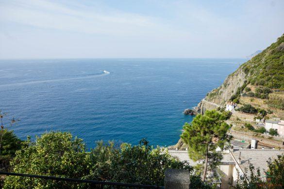 Panorama dal Castello di Riomaggiore.
