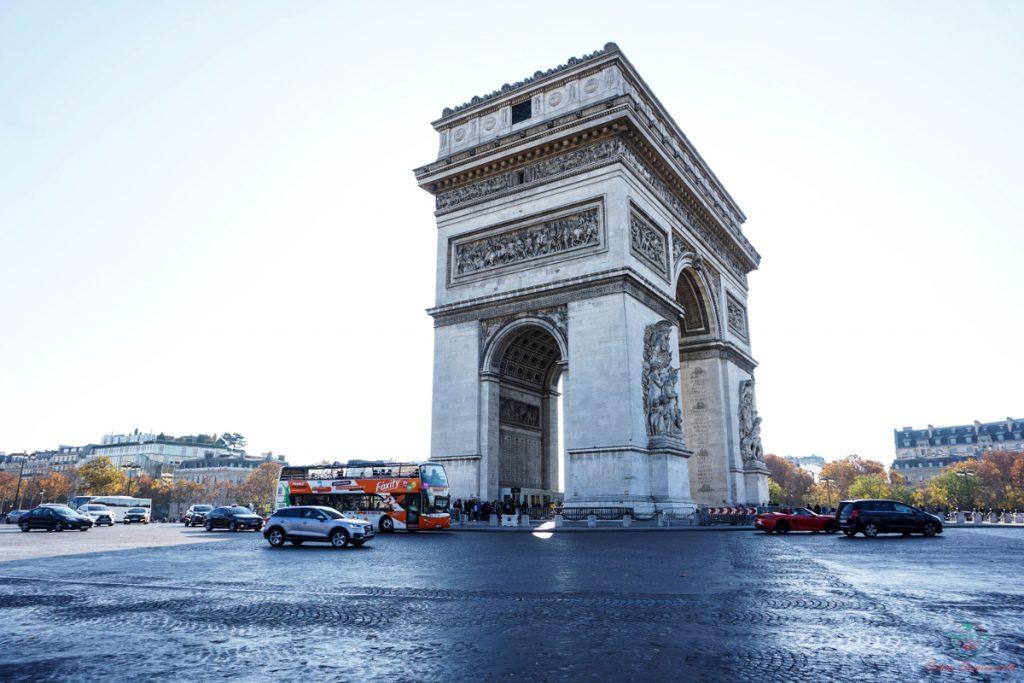 Arco di Trionfo, Parigi.