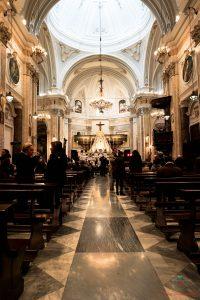 Interno della Cattedrale di Foggia.
