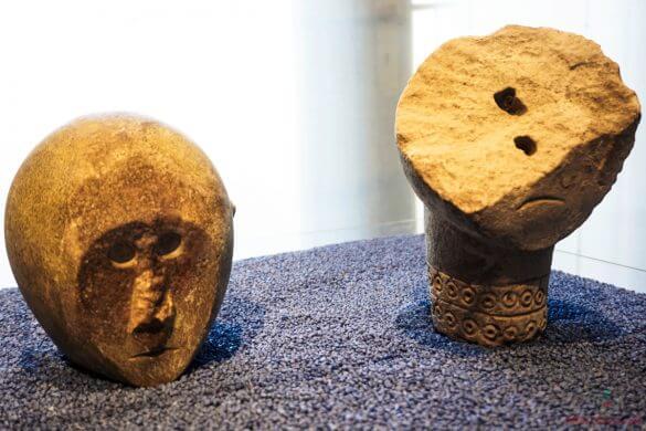 Teste della Civiltà Daunia, Museo Civico.