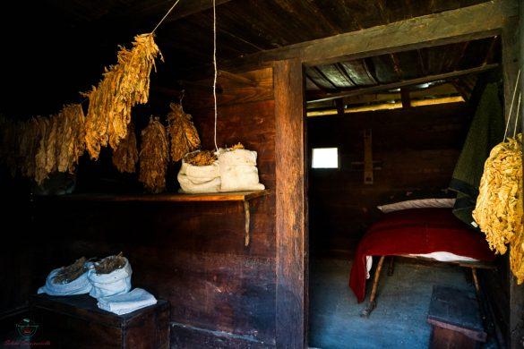 Casa del venditore di tabacco nel villaggio di Sirogojno.