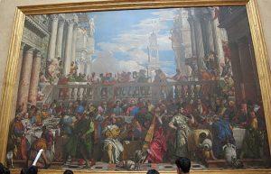 Il dipinto Le Nozze di Cana di Paolo Veronese