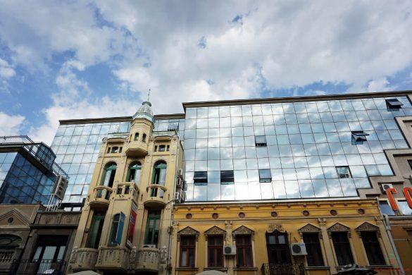 architetture moderne e antiche a Niš