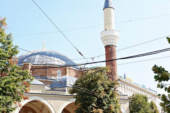 La Moschea Banya Bashi, da vedere se vuoi visitare sofia.
