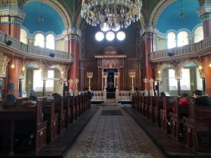 interno sinagoga sofia