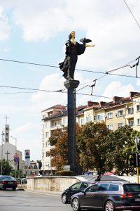 Cosa vedere a sofia: La Statua di Santa Sofia.