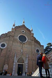 Cosa vedere a Venezia: Basilica dei Frari.