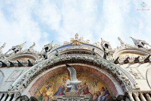 dettaglio della basilica di san marco a venezia