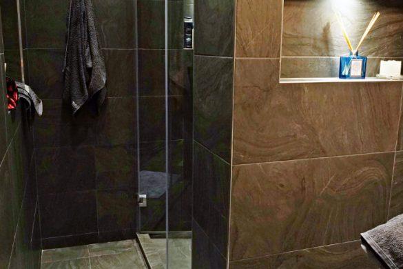 il bagno dell'appartamento silver springs dove dormire a sofia.
